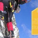 Klettern macht Stress