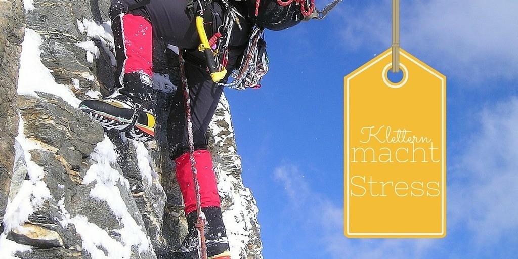 Klettern macht Stress auf Kinderalltag.de