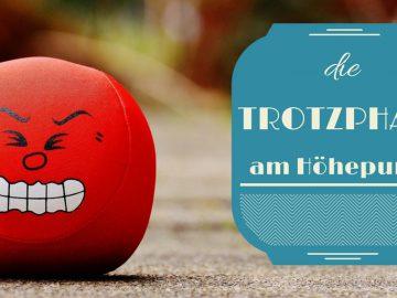 Die Trotzphase am Höhepunkt auf kinderalltag.de