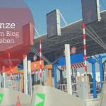 Die Grenze zwischen dem Blog und dem Leben
