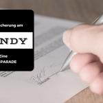 Die Versicherung am Handy - eine Blogparade