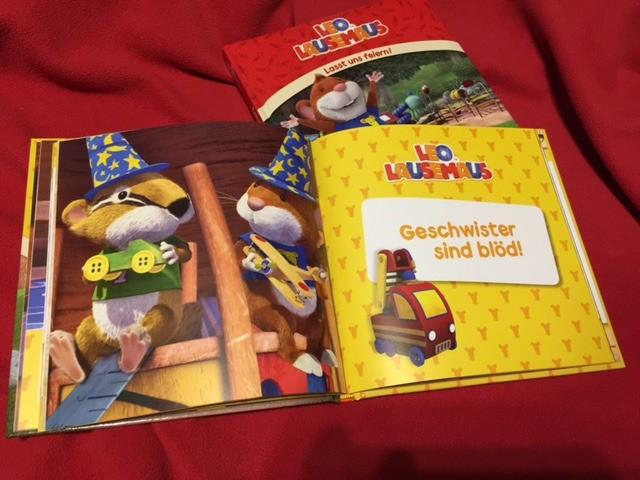 Leo Lausemaus auf kinderalltag.de