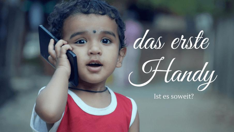 Das erste Handy - ist es soweit auf kinderalltag.de