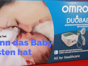 Omron Duobaby Test - Wenn das Baby Husten hat auf kinderalltag.de