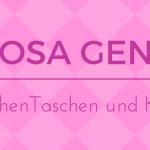 Rosa Gene – Mädchen Taschen und Kleider