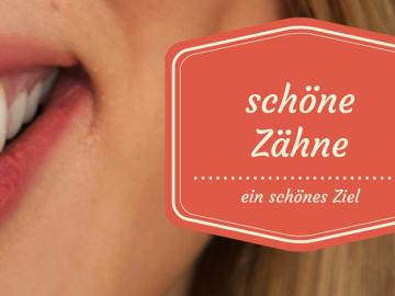 Schöne Zähne, ein schönes Ziel auf kinderalltag.de