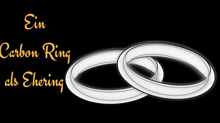Ein Carbon Ring als Ehering auf kinderalltag.de