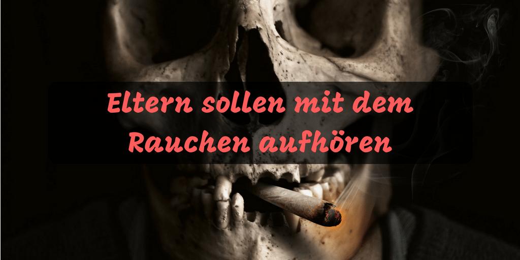 Kinder versprochen mit dem rauchen aufhoren