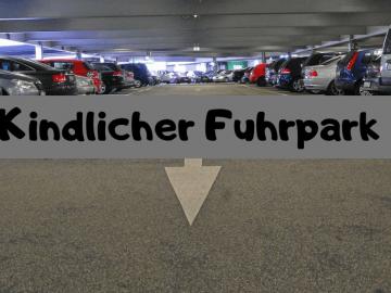 Kindlicher Fuhrpark auf kinderalltag.de