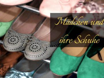 Mädchen und ihre Schuhe auf kinderalltag.de