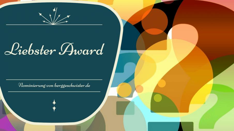 Nominierung zum Liebster Award auf kinderalltag.de