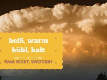 heiß, warm, kühl, kalt - was jetzt, Wetter - Beitrag über das Anziehen der Kinder in der Übergangszeit auf kinderalltag.de