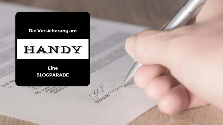 Die Versicherung am Handy - eine Blogparade auf kinderalltag.de
