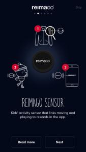 Der ReimaGO Aktvitätssensor, die Fleecejacke und die App im Test auf kinderalltag.de