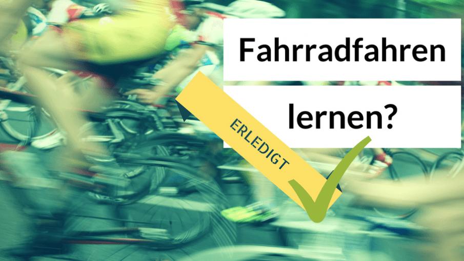 Fahrradfahren lernen? Erledigt! auf kinderalltag.de