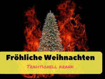 Fröhliche Weihnachten traditionell krank auf kinderalltag.de