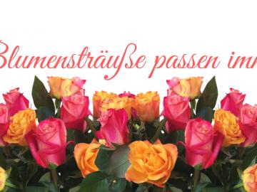 Blumensträuße passen immer auf kinderalltag.de