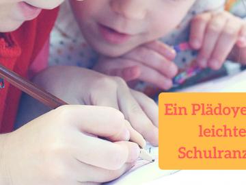 Ein Plädoyer für leichte Schulranzen auf kinderalltag.de