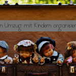 Den Umzug mit Kindern organisieren