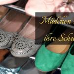 Mädchen und ihre Schuhe