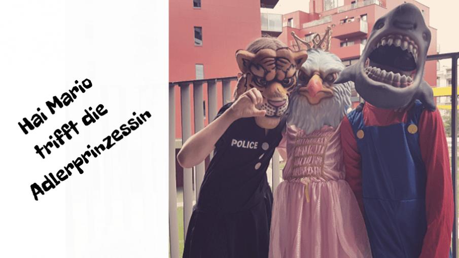 Hai Mario trifft die Adlerprinzessin auf kinderalltag.de