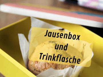 Jausenbox und Trinkflasche auf kinderalltag.de