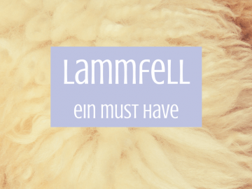 Lammfell - ein must have auf kinderalltag.de