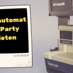 Fotoautomat für Party mieten