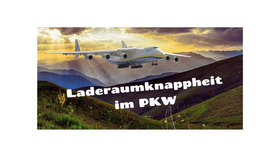 Laderaumknappheit im PKW auf kinderalltag.de