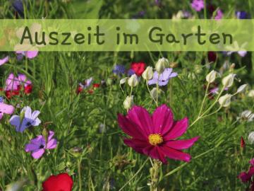 Auszeit im Garten auf kinderalltag.de