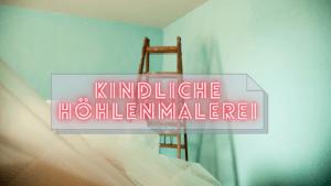 Kindliche Höhlenmalerei auf kinderalltag.de