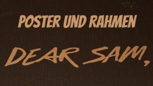 Poster und Rahmen auf kinderalltag.de
